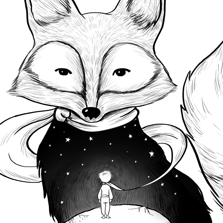 THE FOX OF LITTLE PRINCE